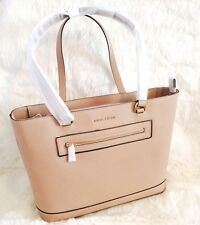 NWT Michael Kors Frame Out Specchio Large North South Laptop Tote Oyster Tan