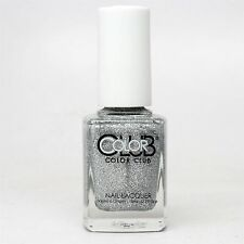 Color Club Nail Lacquer # 781, Silver Glitter, 0.5 oz