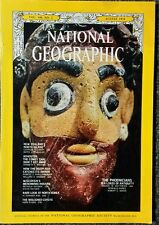 National Geographic magazine August 1974 Phoenicians, New Zealand, Korea, Coyote