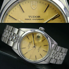 TUDOR Prince Oyster Date Automatic Steel Men's Wrist Watch