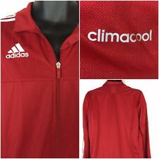 Adidas Performance Climacool Men's Full Zip Red Track Jacket Size M-NWT