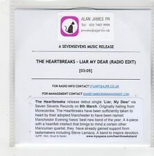 (FN106) The Heartbreaks, Liar My Dear - DJ CD