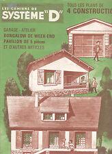 Les cahiers de Système D N°52  juillet-août 1968 constructions à faire soi-même