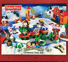 Fisher Price Little People Musical Christmas Train Set COMPLETE