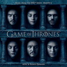 LE TRONE DE FER SAISON 6 (GAME OF THRONES) MUSIQUE SERIE TV - RAMIN DJAWADI (CD)