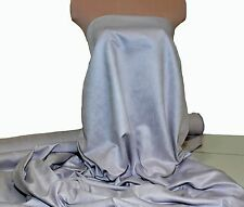 """FAUX SUEDE FABRIC 100% POLY, DOUBLE FACE, SOFT 60"""" PANSY/PURPLE  , CLOTHING"""