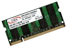 2gb RAM 800mhz ddr2 asus asmobile x58 Notebook x58c de memoria SO-DIMM