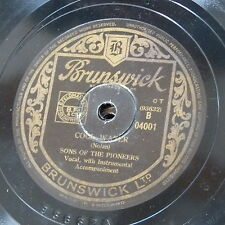 78rpm SONS OF THE PIONEERS cool water / tumbling tumbleweeds