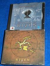 4 CD jeu RIVEN 1997 la suite de MYST redorb + LE CD the MAKING OF