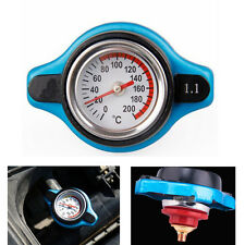 Car Motor 1.1 Bar Thermostatic Radiator Cap Cover 16 PSI Water Temperature Gauge