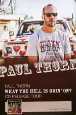 PAUL THRON POSTER, WHAT THE HELL IS GOING ON (A26)