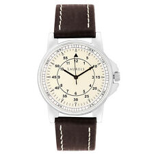 Laurels Vintage 1 Analog Ivory Dial Men's Watch - Lo-Vin-101