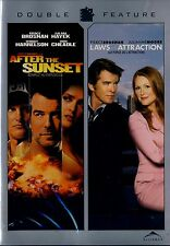 NEW DOUBLE FEATURE DVD // PIERCE BROSNAN / AFTER THE SUNSET & LAWS OF ATTRACTION