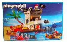 Exclusive Playmobil 5622 Pirates Hideout with Canon Ande Watch Tower - Rare
