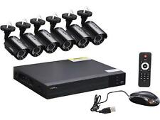 Q-See 8-Channel Full HD 1080p Security System with 6 AHD 1080p Day / Night Bulle
