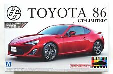 AOSHIMA pre-painted model #36 1/24 Toyota 86 GT Limited red scale model kit