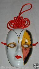 Schicke kleine Maske Deko-Maske zum Aaufhängen