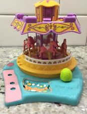 Polly Pocket Bluebird Horse Spinning Carousel Vintage