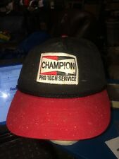 trucker hat baseball cap CHAMPION PRO TECH SERVICE cool lid old school