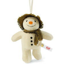Steiff 'The Snowman' ornament 2015 limited edition in gift box - EAN 664762