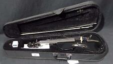 Barcus Berry Vibrato AE Violin Acoustic Electric in Black with Case #1289