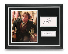 Eddie Redmayne Signed Photo Framed 16x12 Movie Autograph Memorabilia Display COA