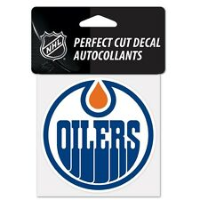 "Edmonton Oilers Perfect Cut 4""x4"" Color Decal [NEW] Auto Sticker Emblem NHL"