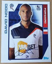 TOPPS - PREMIER LEAGUE 2012 - STICKER COLLECTION- No 89 - DAVID NGOG