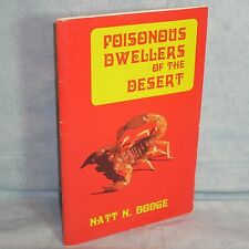 Poisonous Dwellers of the Desert, Dodge 1986 - snakes scorpions spiders OH MY!