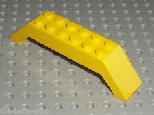 Yellow LEGO Slope Brick 45 10 x 2 x 2 Double ref 30180 / set 7344 7775 1351 6426