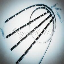 2x 60cm 30 SMD LED Bande Flexible Blanc Etanche 12V Souple Tuning FEUX JOUR