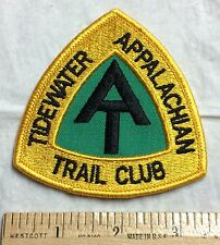 APPALACHIAN TRAIL Tidewater Trail Club Maine to Georgia Hiking Patch Badge