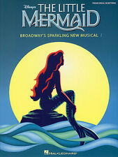The Little Mermaid ARIEL Learn to Play Pop PIANO Guitar PVG Music Book