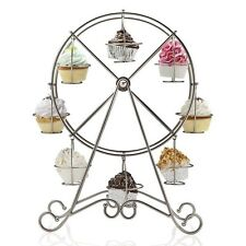 FERRIS WHEEL CUPCAKE HOLDER HOLDS 8 CUPCAKES (FREE SHIPPING)