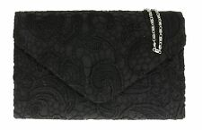 New Womens Satin Lace Clutch Bag Evening Bridal Bag Wedding Fashion Prom Vintage