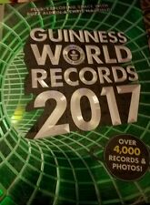 GUINNESS BOOK OF WORLD RECORDS 2017 Brand New going fast free shipping!!!!!