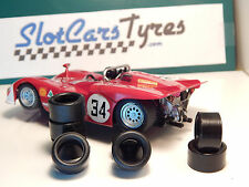 SLOT IT - 8 rear tires  Alfa 33  - Au