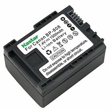 1x Kastar Battery for Canon BP-808 LEGRIA HF S200 LEGRIA HF S21 LEGRIA HF20