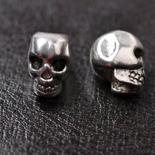 10pcs wholesa tibetan silver skull Spacer Beads For Jewellry 12MM SH810