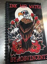 Tattoo Flash Book Tattoo Design Sailor Jerry Watercolor Art Sketchbook
