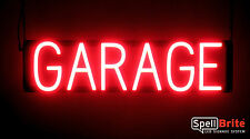 SpellBrite Ultra-Bright GARAGE Sign Neon look LED performance