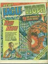 EAGLE & TIGER British comic book April 13, 1985 Dan Dare VG+