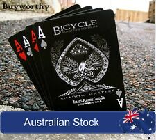 Shadow Masters Playing Cards Ellusionist Bicycle Premium Deck Brand New & Sealed