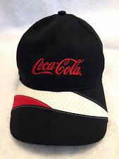 Coca Cola Snapback Hat in Black, Red & White by K-Products Headwear