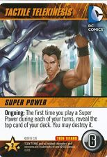 TECTILE TELEKINESIS DC Comics Deck Building Game TEEN TITANS SP card SUPERBOY