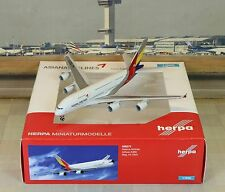 Herpa Wings Asiana Airbus A380-8 (NG) 1/500