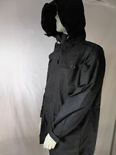 "British Forces Black Ripstop Field Smock / Hooded Jacket Size 180/112 (44""chest)"