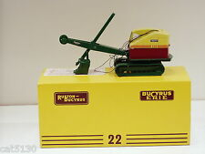 1950 - 1962 Bucyrus Erie 22B Cable Shovel - 1/48 - Kent Models of UK
