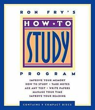 How to Study by Ron Fry Audio Book on 9 CDs NEW/Sealed