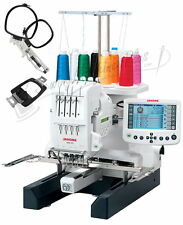 Janome MB-4S Commercial Embroidery Machine New + Bonus KIt New